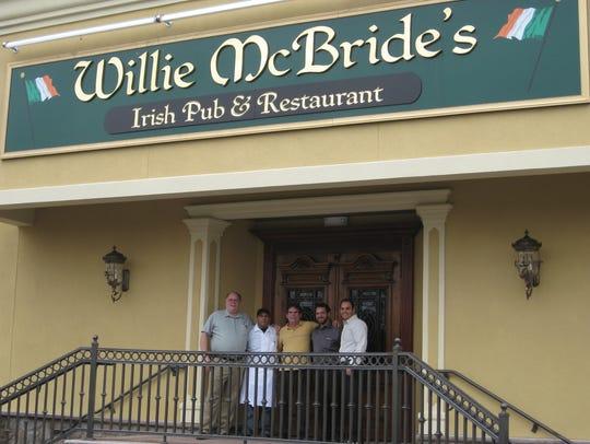 Willie McBride's Irish Pub and Restaurant in Branchburg.