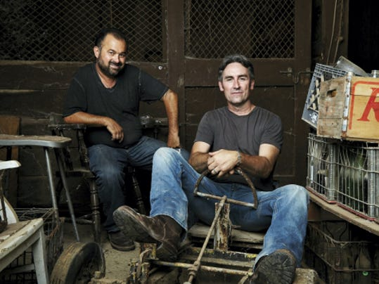 Frank Fritz, left, and Mike Wolfe of History Channel's 'American Pickers' are coming to Pennsylvania to look for fascinating antiques. Submissions from individuals to appear on the show are being accepted.