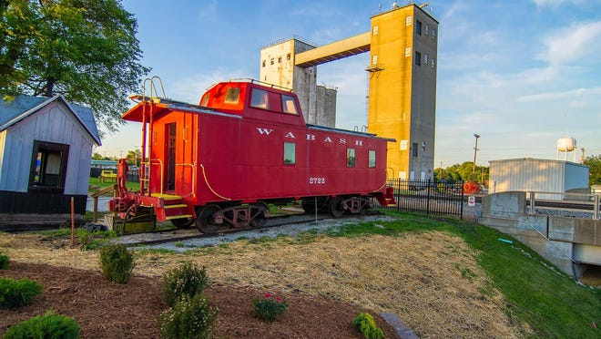 A new sign will be unveiled for the Randolph County Historical Society Railroad Museum at 5 p.m. Oct. 19.