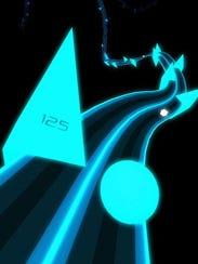 A screenshot of the game Rush.