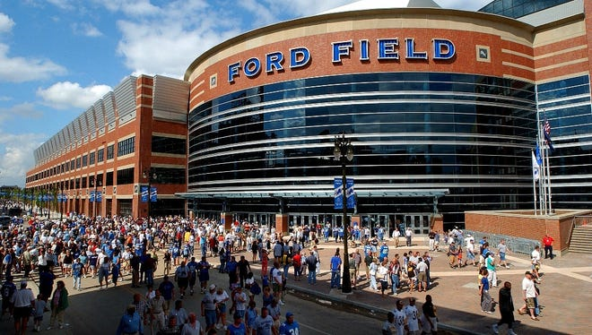 Ford Field in Detroit is one of the city's top sports venues.