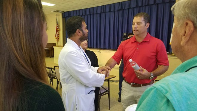 Dr. Pubudu Bulathsinghala and Doug Commons