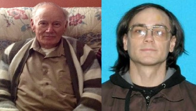 Thomas David Anderson, 79, left, and his son Brett Anderson, 46, are missing after a fire in Chester County.
