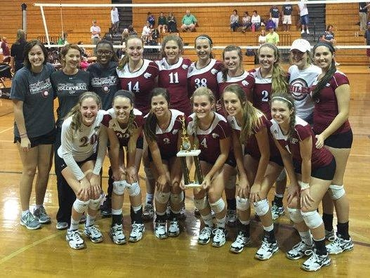 The Chiles volleyball team swept through the Premier Division over the weekend with five wins at the Battle of the Borders Tournament.