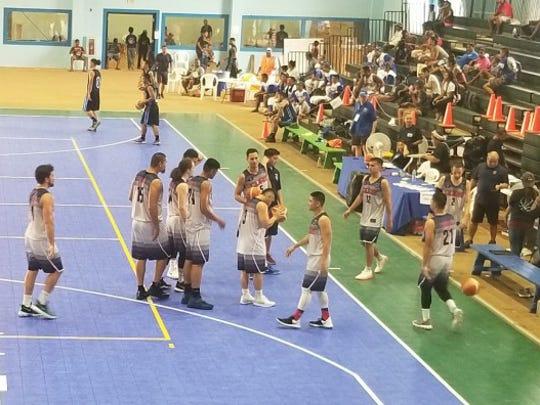 Guam's men's basketball squad come together before