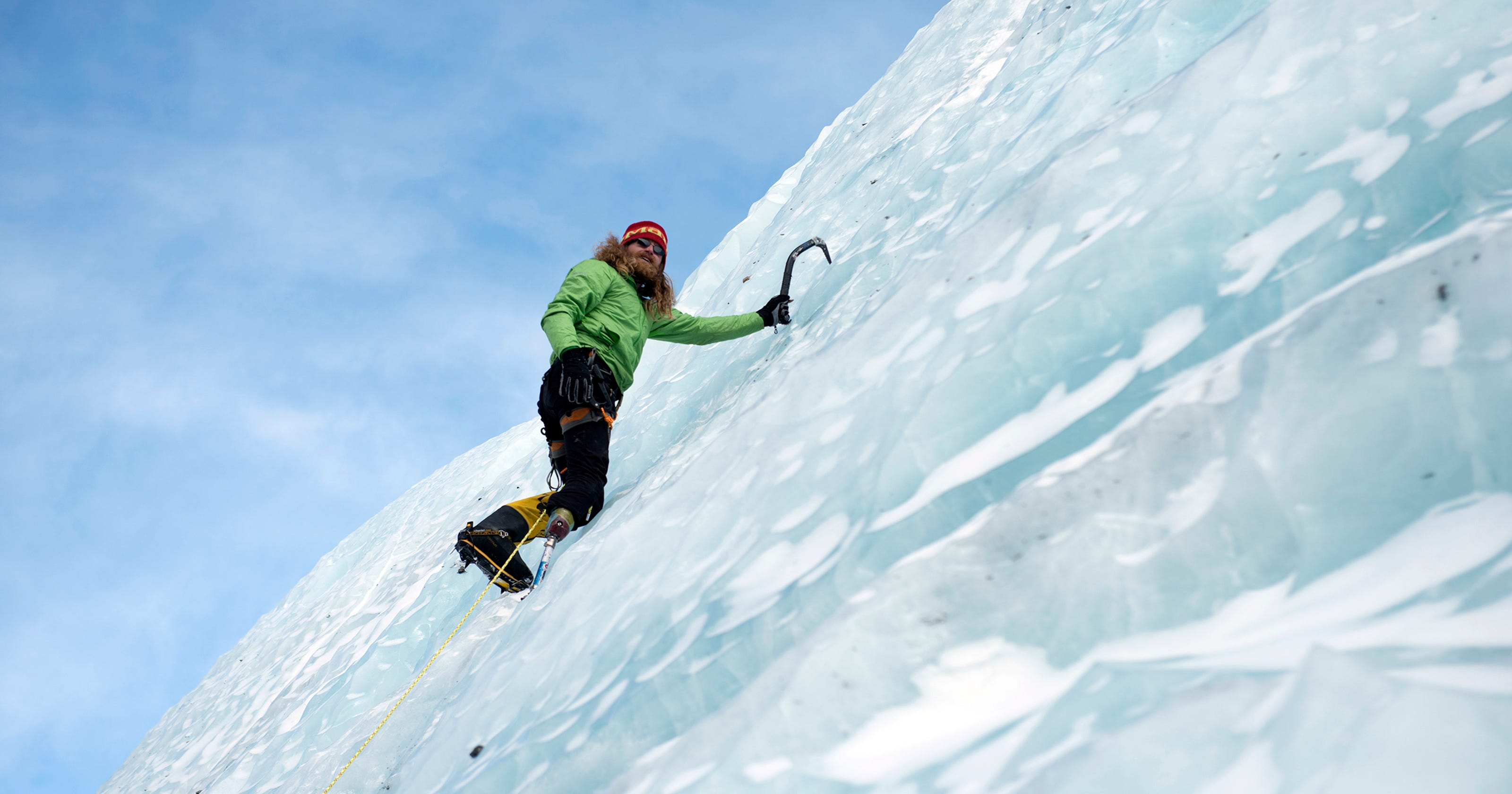 combat veteran amputees brave storms cold to climb everest. Black Bedroom Furniture Sets. Home Design Ideas