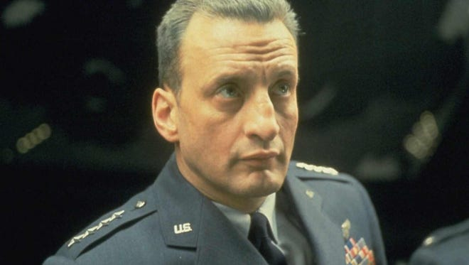 "George C. Scott stars in the 1964 satire ""Dr. Strangelove or: How I Learned to Stop Worrying and Love the Bomb."""