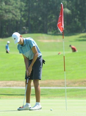 Sandwich golfer Sam Hood has committed to Bryant University, where he plans to major in communication.