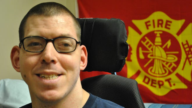 Stephen J. Smith is an honorary firefighter with Union Fire Co. No. 1, Manchester, Station 23.