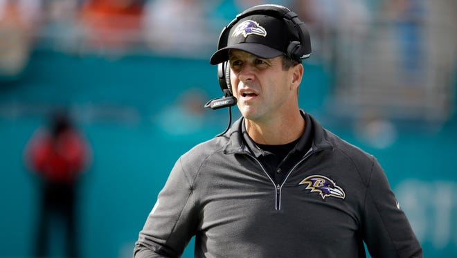 Baltimore Ravens head coach John Harbaugh has decided not to make any major changes on his coaching staff for next season.