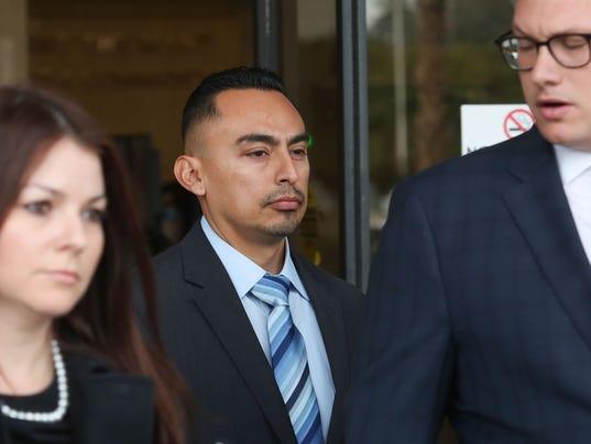 Oscar Rodriguez arraignment