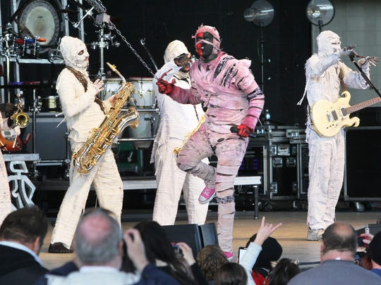 Here Come the Mummies will hit The Vogue on Feb. 17.