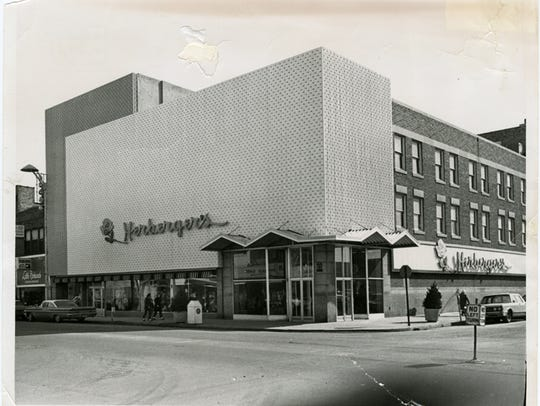 The Herberger's store building in St Cloud, 1965.