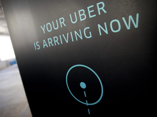 Uber is becoming a more popular way to get around the