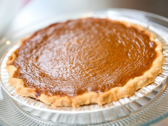 The pumpkin pie at Annie May's Cafe on Frankfort Avenue.