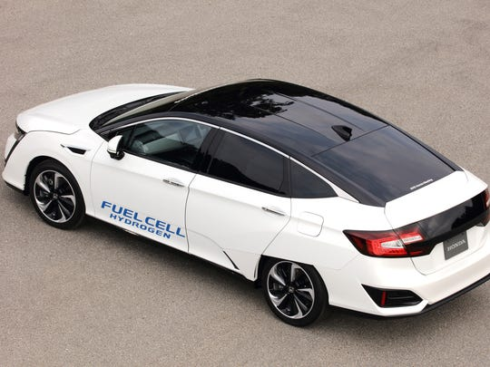 The Honda FCV, officially named the Clarity Fuel Cell,