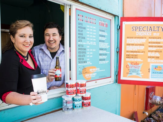 Red Hot Roasters co-owners and siblings, Sondra Powell,
