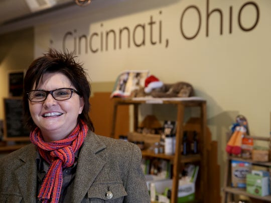Michele Hobbs owns Pets Wants on Vine Street in Over-the-Rhine.