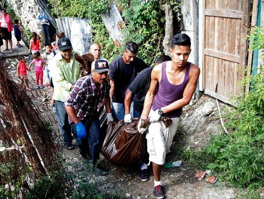 AP HONDURAS VIOLENCE I HND
