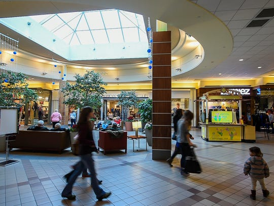 The University Mall in South Burlington on Wednesday,