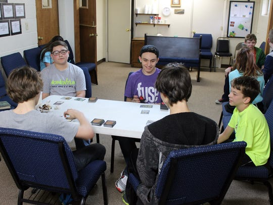 Students of the Fuse program at Erin Church of the