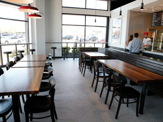 The interior of Pizzeria Locale