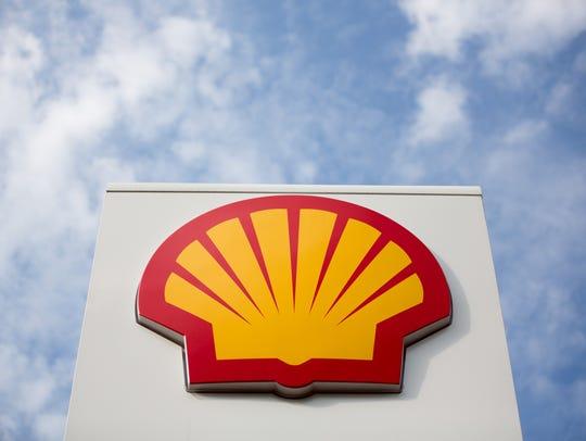 A Shell company logo.