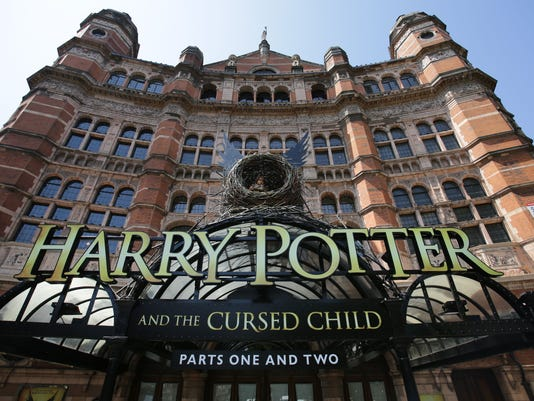 BRITAIN-LITERATURE-POTTER-THEATRE
