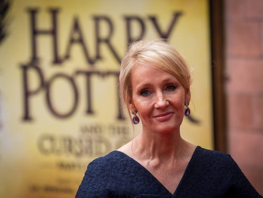 J. K. Rowling at a preview of 'Harry Potter & The Cursed