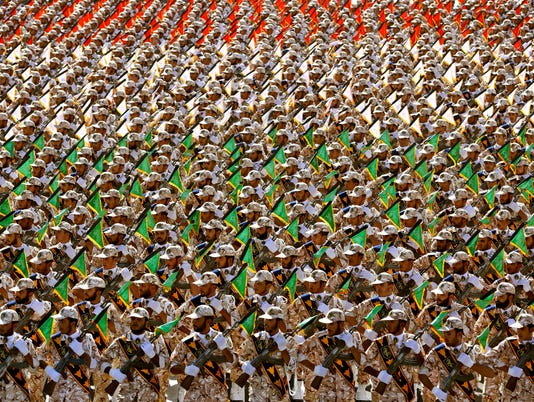 AP MIDEAST IRAN ARMED FORCES I IRN