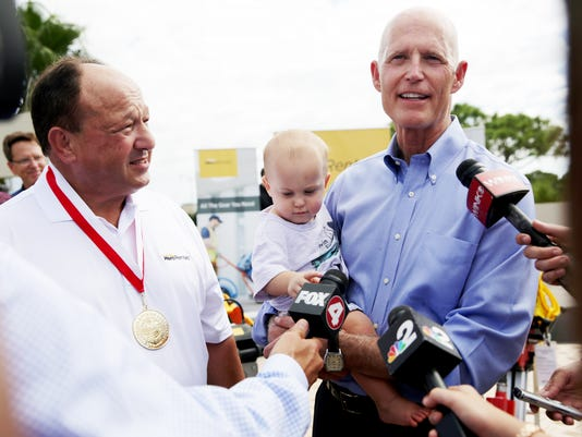 NDN 1020 Gov. Scott in Bonita Springs 01 Lede photo