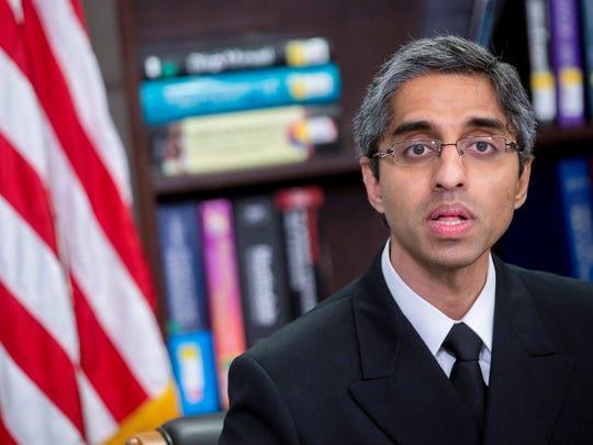 Vivek Murthy, U.S. surgeon general.