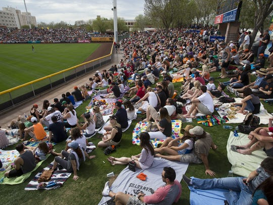 We used to be able to walk up to the ticket office on game days and snag seats at reasonable prices, which resulted in many unexplained absences at work. Not anymore, what with spring training's popularity.