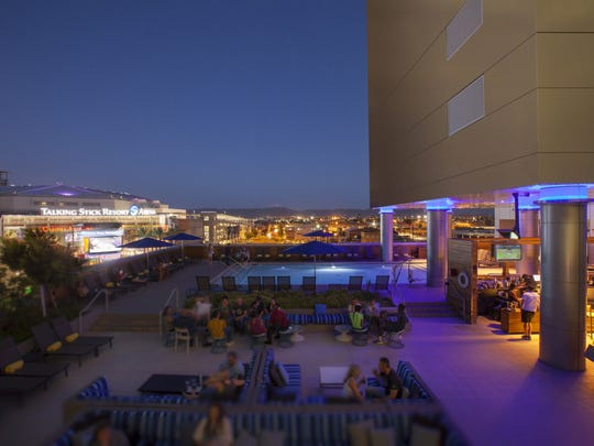 Lustre Rooftop Bar is a great place to grab a drink