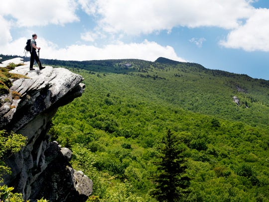 Grandfather Mountain is two parks in one, a free state