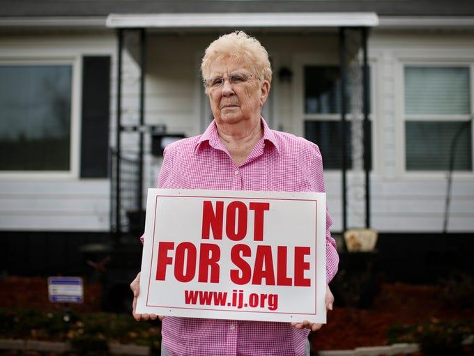 Nancy Ennis, 85, moved in to the Pleasure Ridge area