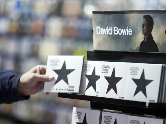 David Bowie's 'Blackstar' wins a grammy for packaging.