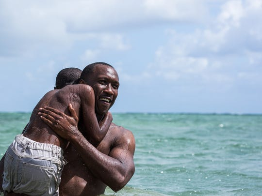Mahershala Ali, right, won the supporting actor Oscar for his role in 2016's 'Moonlight.'