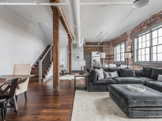 The interior of the penthouse at the Blum Building, 740 E. North St.