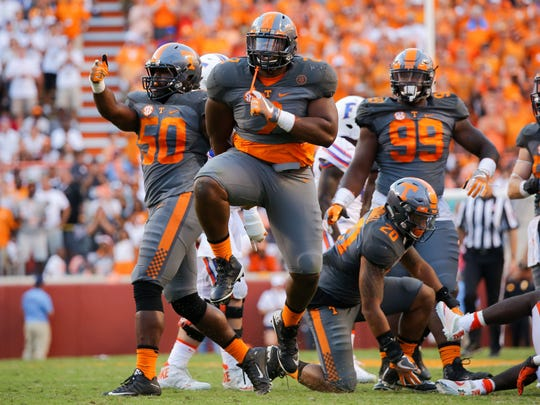 Will defensive tackle Shy Tuttle and Tennessee have