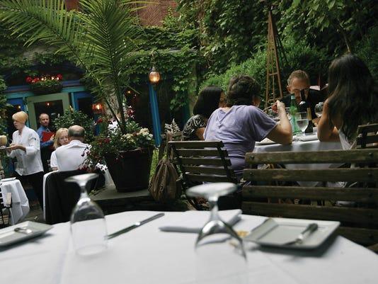 Cafe Matisse garden