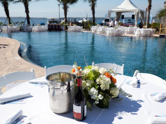Soundside Splendor, the annual fundraiser for the Children's Home Society, offers poolside luxury at the Portofino Island Resort. This year's event is April 30.