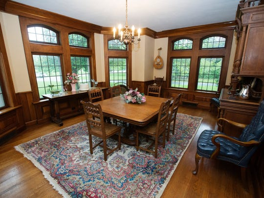 Nick and Tina Sibley's Rountree home will be one stop on the upcoming Bissman home tour to celebrate the works of the late architect Carl Bissman and to benefit Maple Park Cemetery's Gazebo.