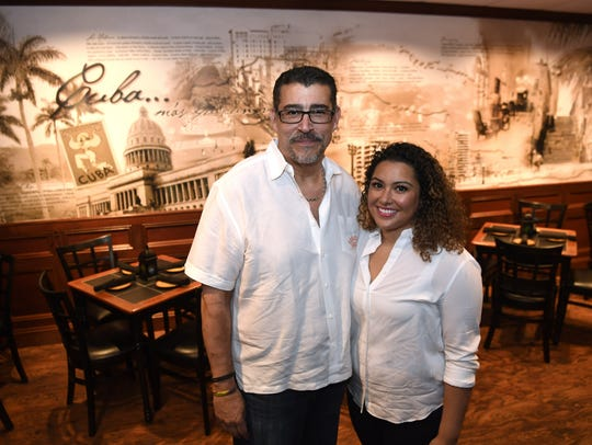 Chef Nick Vazquez and his daughter, owner Lauren Vazquez,