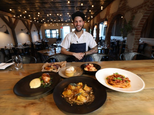 Viaggio's chef Robbie Felice is well known for the