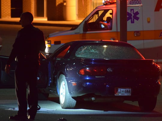 Knoxville police responded to a reported shooting on Monday night at 2340 Martin Luther King Jr. Ave.