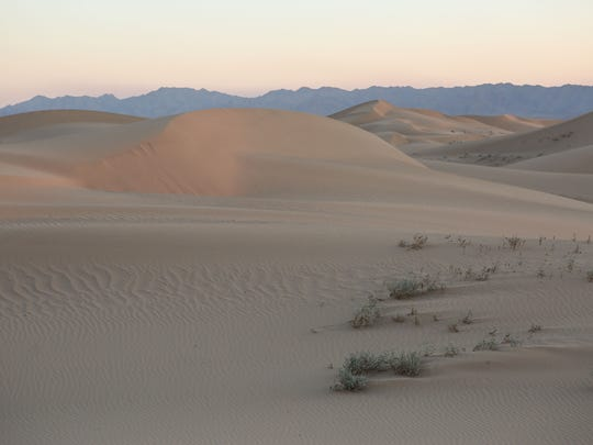 The Cadiz Dunes Wilderness was included in Mojave Trails National Monument when President Obama created the monument in 2016.