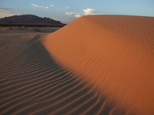Sand dunes in the Cadiz Dunes Wilderness may be removed from the Mojave Trails National Monument.
