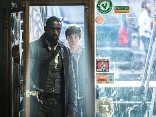 """Idris Elba and Tom Taylor investigate strange goings-on in New York City in """"The Dark Tower."""""""