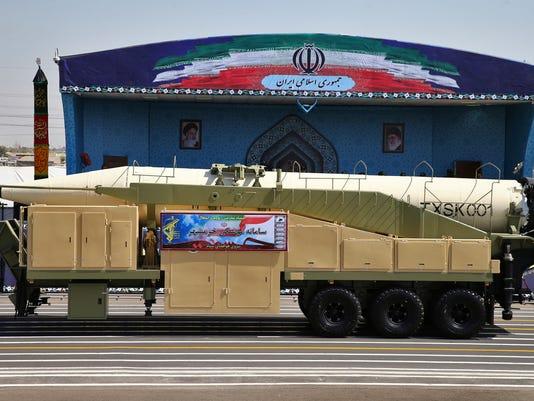 AP IRAN MILITARY PARADE I IRN